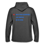 Daily Caller Sweatshirt - charcoal gray