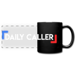Daily Caller Panoramic Mug - black