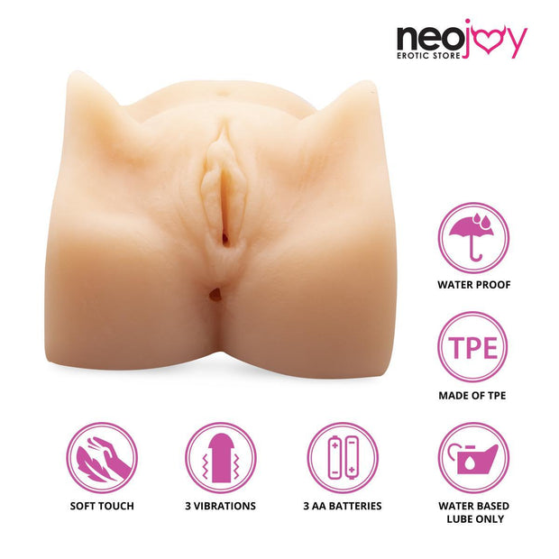 Neojoy Male vagina Masturbator TPE Realistic Ass & Pussy - Small 2-4kg Realistic Vaginas - lucidtoys.com Dildo vibrator sex toy love doll