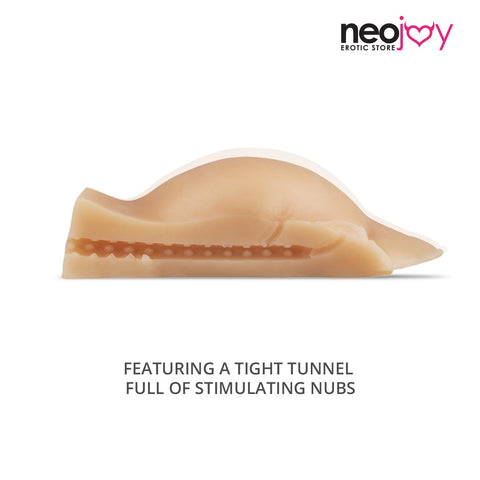 Neojoy Vibrating Male Strokers Sex Doll TPE Realistic Vagina & Ass Sex - Small 1.7kg
