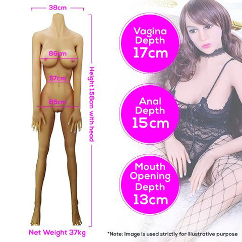 Neojoy Paloma - Realistic Sex Doll - 158cm