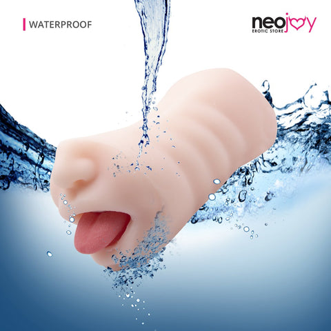 Neojoy - Double-Ended Stroker with Tongue - lucidtoys.com