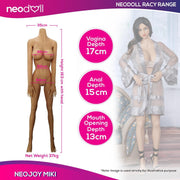 Neodoll Racy Miki - Realistic Sex Doll - 163cm