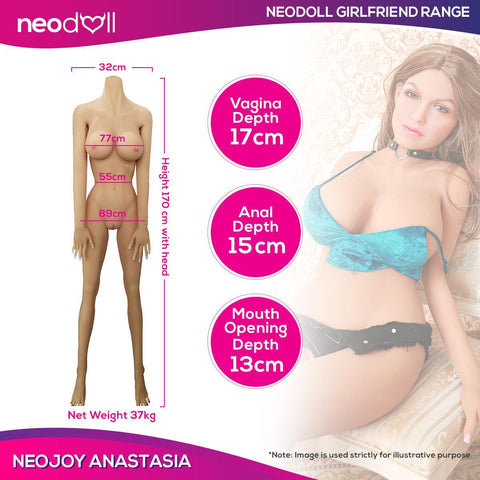 Neojoy Girl Friend Anastasia - Realistic Sex Doll - 170cm