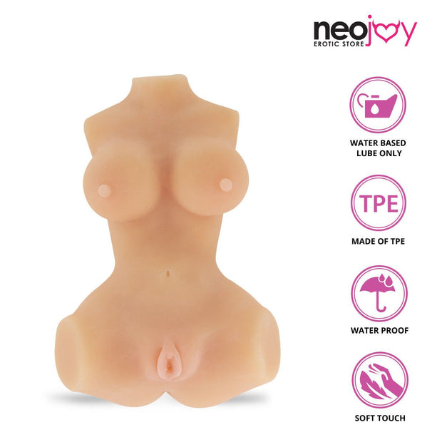 Neojoy Candy Cummin Realistic Sex Doll with Ass & Pussy TPE Flesh - Small 2Kg Realistic Vaginas - lucidtoys.com Dildo vibrator sex toy love doll