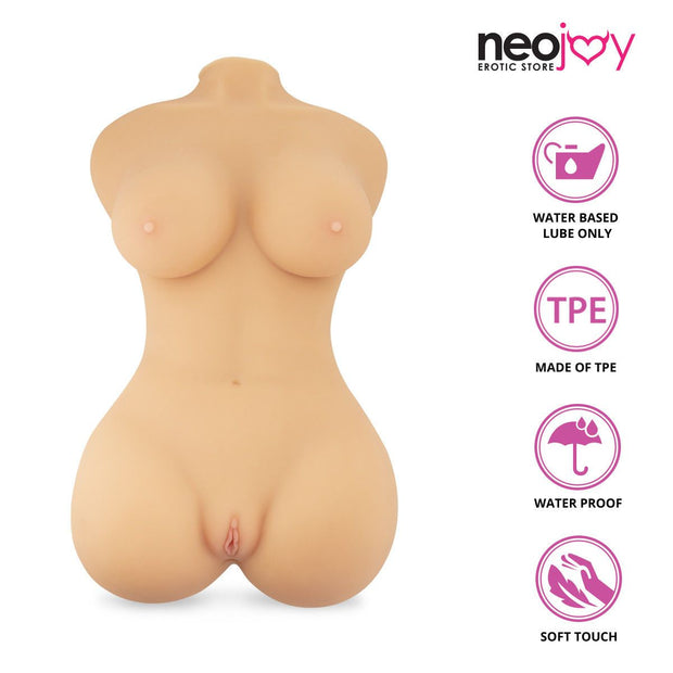Neojoy Realistic Fantasy Sex Doll  with Ass & Vagina TPE Flesh - Large 21 Kg Realistic Vaginas - lucidtoys.com Dildo vibrator sex toy love doll