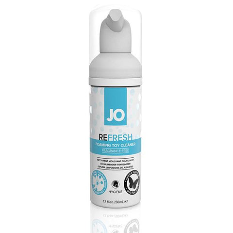 System JO - Refresh Foaming Toy Cleaner Toy Cleaner - lucidtoys.com Dildo vibrator sex toy love doll