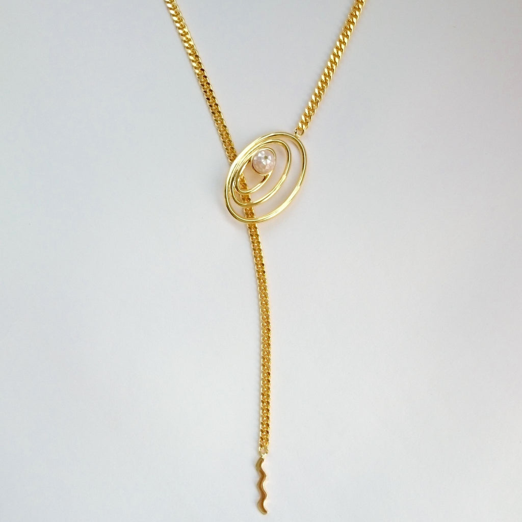 Space Multi-Ways Necklaces-Necklaces-Everard & Wang