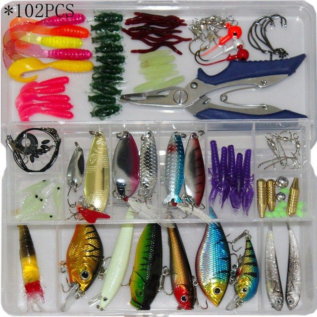 Instant Fishing Tackle Box Sets