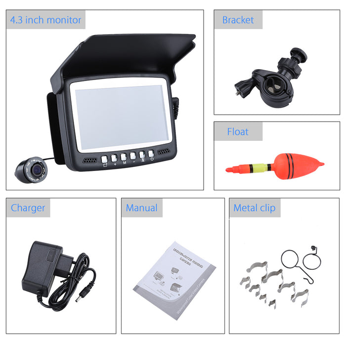 "Edies Fish Finder  4.3"" LCD Monitor"