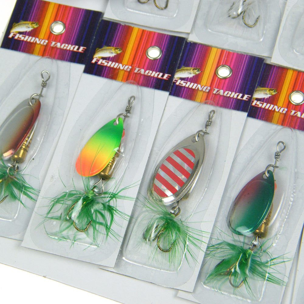 30 Piece Assorted Spinner Baits