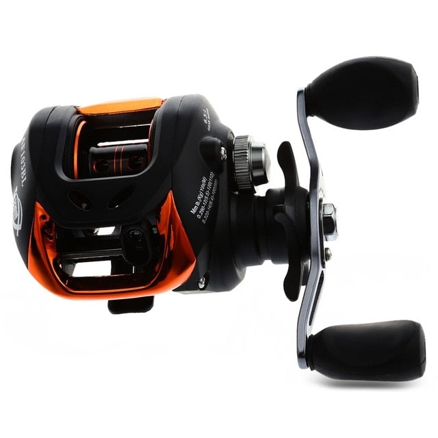 Baitcasting Fishing Reel 6.3:1 With Magnetic Brake