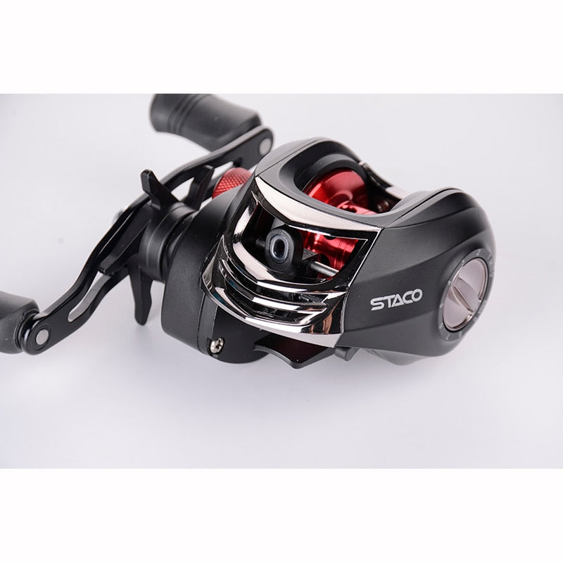 LIZARD Left/Right Hand Baitcasting Reel 6.3:1