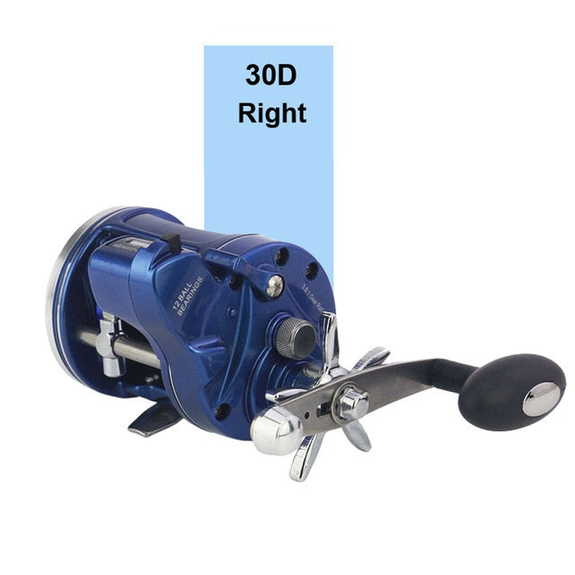 High Strength Aluminum  Reel With Fishing Line Counter