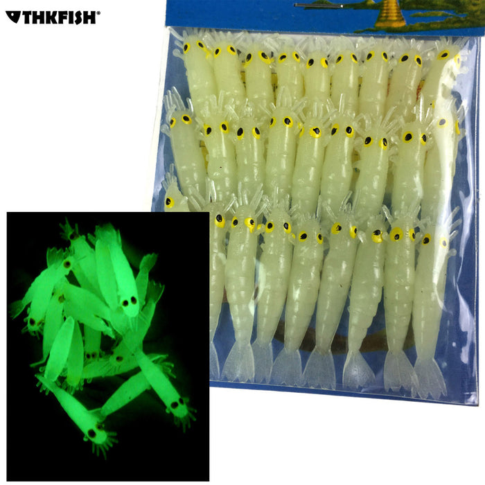 Glowing  Soft Lure Baits 27 Piece