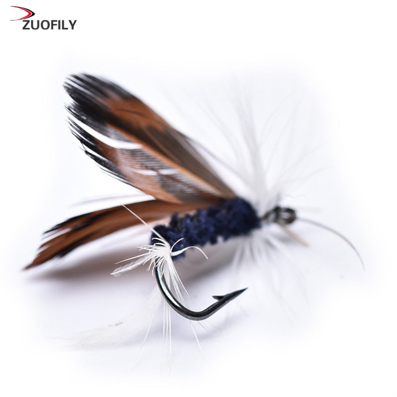 12 Piece Dry Fly Fishing Lure for Trout and Salmon
