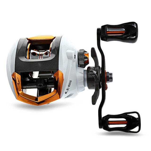 Baitcasting Fishing Reel with Magnetic Brake System