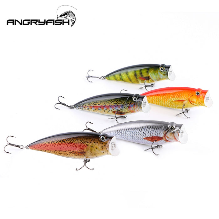 ANGRYFISH  Artificial Bait Set 5 Colors