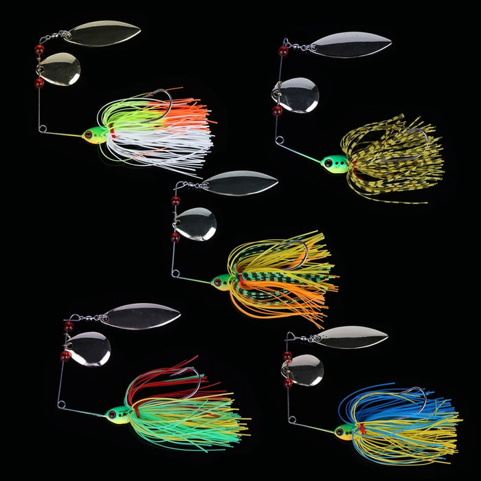 5 Piece Spinnerbait Set