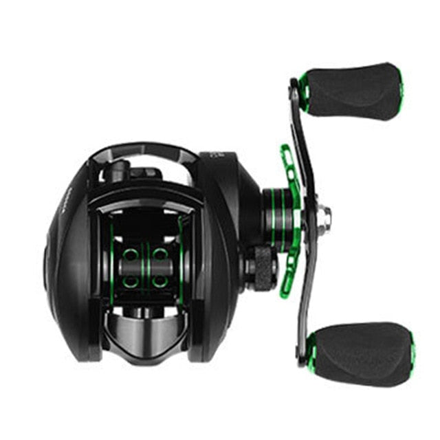 High Speed Left / Right Hand Baitcasting Reel With Magnetic Brake System