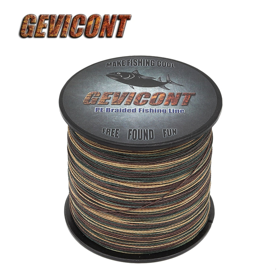 4 Strands PE Braided Wire Camo 100 - 2000 yard spools