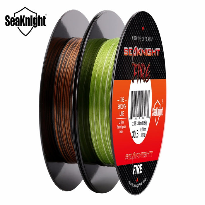 Sea Knight FIRE Series 300 Meter Fishing Line Camo