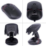 Mouse Design Car Mobile Holder for Dashboard and Wind Shield Black-chargingcable.in