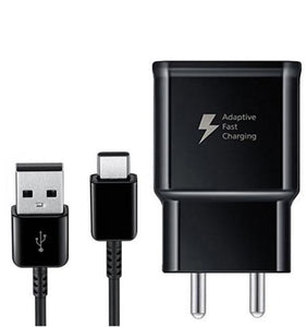 Samsung Galaxy A31 Type C Adaptive Fast Mobile Charger With 1 Mt Cable Black