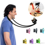Neck Hanging Lazy Stand 360 Rotation Mobile Holder