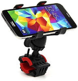 Motorcycle/Bicycle Phone Mobile Holder Having 360 rotation Clamp Type Bike Mobile Holder (Black)