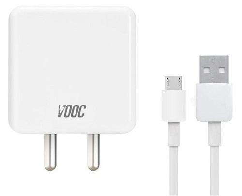 Oppo F11 4 Amp Vooc Charger With Cable-chargingcable.in