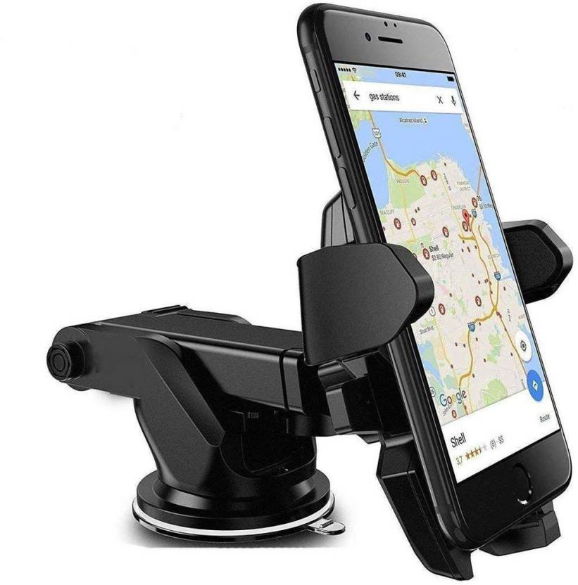 Car Mobile Holder for Windshield, Dashboard With Extended Arm (Multicolor)