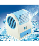 Mini Portable Fan Cooling Blade less Air Conditioner with FRAGRANCE Water Cooler USB Fan (Multi-Color)