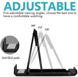 Multi angle fold-able Stand Handy Pocket Size mobile holder Pack of 2 Multi-Color