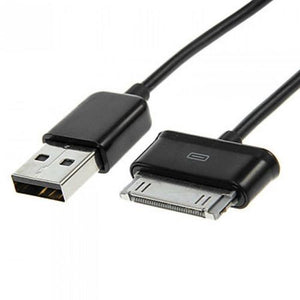 Data Cable Charge And Sync Cable for Samsung Tablet Devices-1M-Black-chargingcable.in