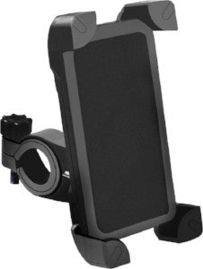 Motorcycle/Bicycle Phone Mobile Holder Having 360 rotation Bike Mobile Holder (Black)