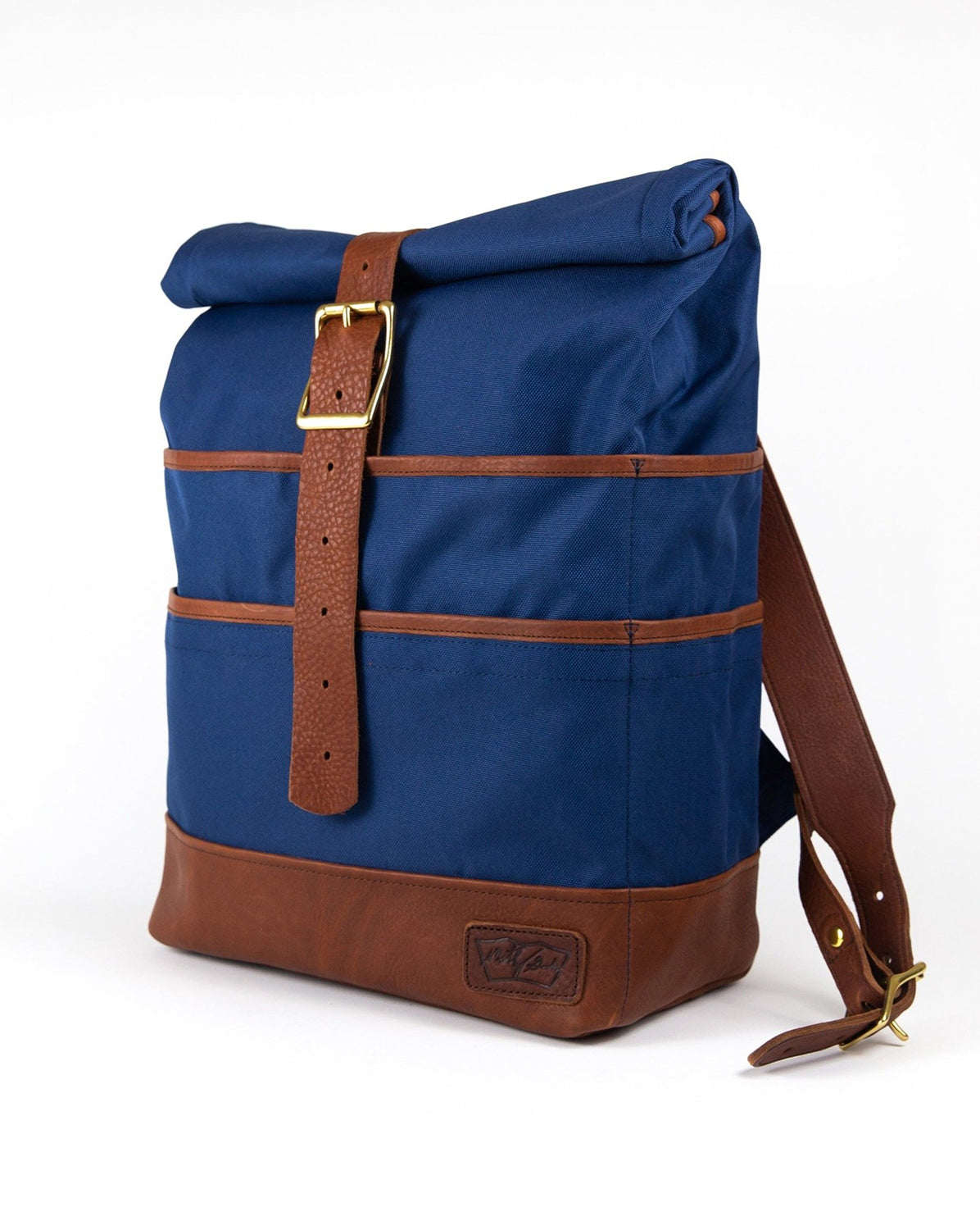 Weekender in Navy with Brown Leather  CLOSEOUT COLOR...20% OFF SALE!