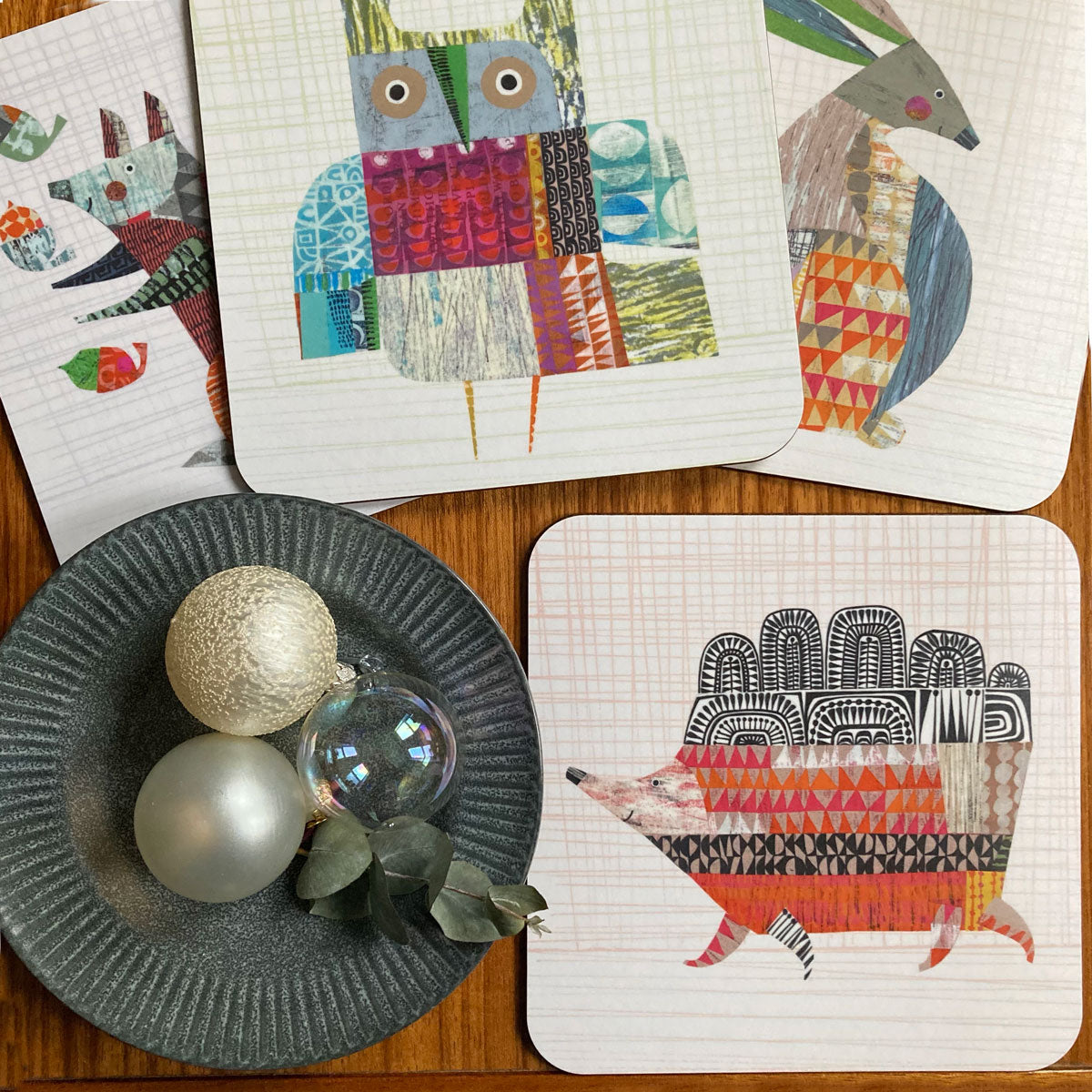 NEW: Mats and coasters by Clare Youngs