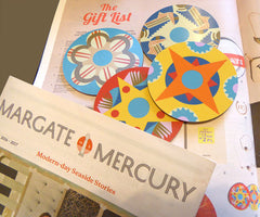 Jenny Duff mats and coasters in Margate Mercury