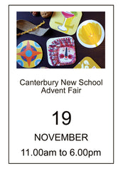 Canterbury New School Advent Fair 2017