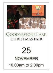 Goodnestone Park Christmas Fair