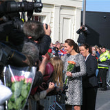 Jenny Duff visit by HRH Duchess of Cambridge