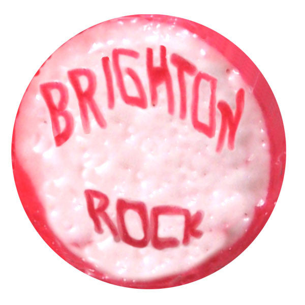Jenny Duff melamine coaster Brighton seaside rock