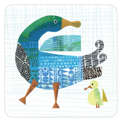 Jenny Duff Clare Youngs table mats placemats duck and duckling design