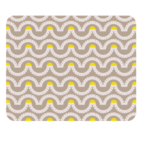 Jenny Duff Gillian Blease wave design harbour seaside nautical maritime table mat tablemat place mat placemats melamine made in Britain Broadstairs beacon