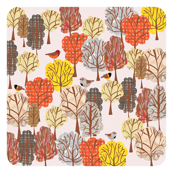 Jenny Duff Lindsay Marsden Autumn square table mat large print