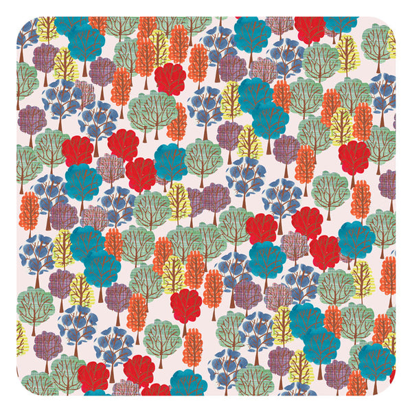 Jenny Duff Lindsay Marsden Summer square table mat small print