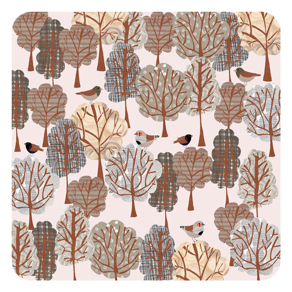 Jenny Duff Lindsay Marsden Winter square table mat large print