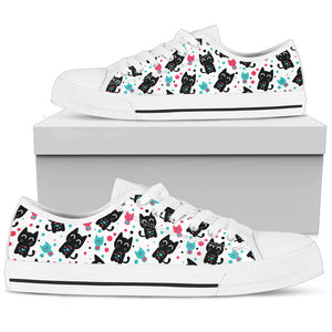 Cat Heart Women's Low Top Shoe