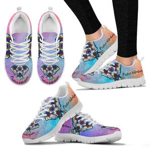 Positive Vibrations Handcrafted Premium Mesh Women's Sneakers